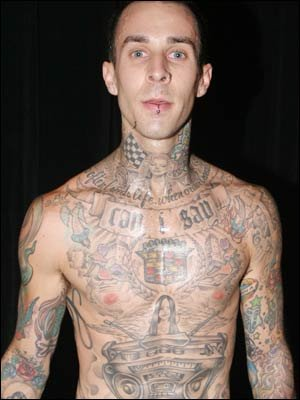 Travis Barkers Tattoos on Travis Barker Tattoo   Find The Latest News On Travis Barker Tattoo At