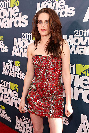 kristen stewart mtv movie awards 2011 hair. 2010 2011 MTV Movie Awards Red