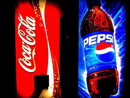 Coke vs pepsi war